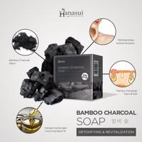HANASUI BAMBOO CHARCOAL - SABUN ARANG BPOM