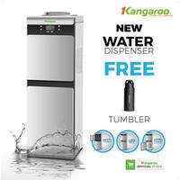 Kangaroo Dispenser KG41W Hemat Listrik-Kabinet Pendingin-Child Lock