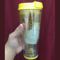 Tumbler Starbucks Autumn Collection Bunny Kelinci Yellow Kuning