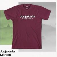 T1816 Kaos Tshirt Baju Combed 30S Distro Jogjakarta Yogyakarta Jogja