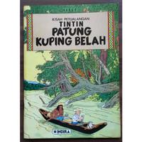 Komik Tintin Patung Kuping Belah - Indira Cetakan Pertama