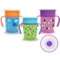 Babysafe 360 Cup with Handle 270ml AP013 - Gelas Minum Anak