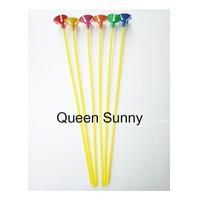 Stick Balon dan Cup Warna / Stik Balon / Pegangan Balon