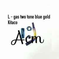 L gas two tone thailand blue gold / L gas slongsong