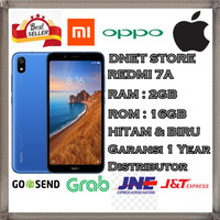 XIAOMI REDMI 7A 2/16GB - RAM 2GB - MEMORY 16GB