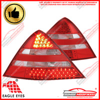 STOP LAMP - BENZ R170 SLK 1997-2003 - LED - RED CLEAR - EAGLEEYES