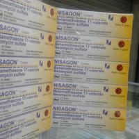 Nisagon cream 5gr Harga per (1ball)