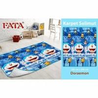 Karpet Bulu Motif Anak Fata Doraemon 160x200 cm