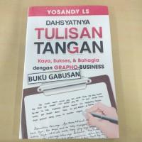 BUKU DAHSYATNYA TULISAN TANGAN - GRAPHO BUSINESS - YOSANDY LS ns
