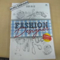 BUKU FASHION DESIGNER - FITRI AULIA ns