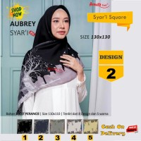 Jilbab Segiempat Aubrey Syari French Design 2 by Azzura-Kerudung Syari