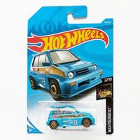 Hot Wheels 85 Honda City Turbo II Biru Nightburnerz Mobil Hotwheels