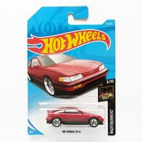 Hot Wheels 88 Honda CR-X Merah Nightburnerz Mainan Mobil Hotwheels
