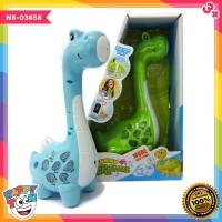 Funny Microphone Dinosaur - NB-03658