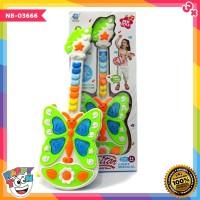 Guitar Butterfly Music - Light Musical - NB-03666