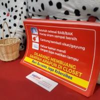 Stiker Toilet /Kamar Mandi