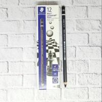 Pensil 8B Staedtler EE Black By MUKENA24