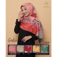 Jilbab Segi Empat GELSIE By Adabia Mufler Design 04 - Hijab MOTIF