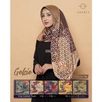 Jilbab Segi Empat GELSIE By Adabia Mufler Design 06 - Hijab MOTIF