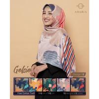 Jilbab Segi Empat GELSIE By Adabia Mufler Design 02 - Hijab Motif
