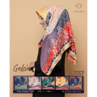 Jilbab Segi Empat GELSIE By Adabia Mufler Design 08 - Hijab MOTIF