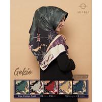 Jilbab Segi Empat GELSIE By Adabia Mufler Design 03 - Hijab Motif