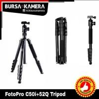 FotoPro C50i+52Q Tripod