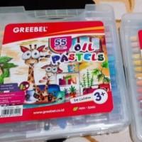 Crayon Greebel Oil Pastels isi 55 Warna