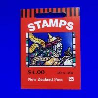 Prangko/Perangko New Zealand Tema Christmas/Natal 1996 Stamp Booklet