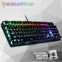 TECWARE PHANTOM 104 Backlit Mechanical Keyboard - Outemu Brown Switch