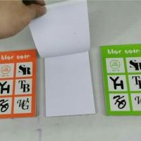 hand book polos - bloc note - buku gambar mini