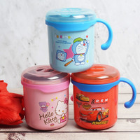 GELAS MUG KECIL KARAKTER TUPPERWARE STAINLESS HELLO KITTY / BPA FREE