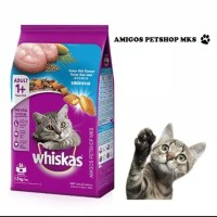 Whiskas Adult (1+) Makanan Kucing 1.2 kg - Amigos Petshop Mks