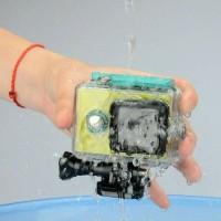 Best Waterproof case Xiaomi yi cam original Free tripod adaptor