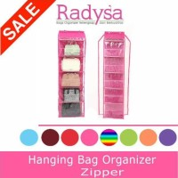 Rak Tas Resleting - Hanging Bag Organizer Zipper