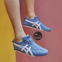 "onitsuka tiger slipon blue blue white ""new - ,"