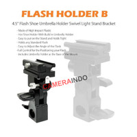 Flash holder B Bracket flash with umbrella mount flash shoe hot shoe