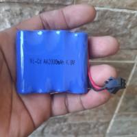 Baterai batere mobil remot rc 4,8V batre mainan remote control