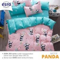 Bahan Kain Sprei per Meter Esra motif Panda super lembut!