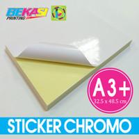 Sticker Glossy / Stiker Chromo Fastac A3+ 32.5 X 48.5 cm