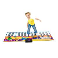 JUMBO Piano Gigantic Keyboard Playmat Zippy Mat Star Mainan Musik Anak
