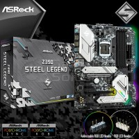 Asrock Z390 Steel Legend (LGA 1151, Z390, DDR4) Motherboard Intel