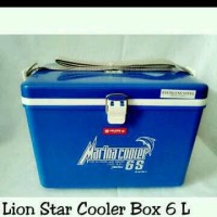 Marina 6 S Lion Star 5,5 Liter Cool Box Ice Cooler Box Marina 6s Kotak