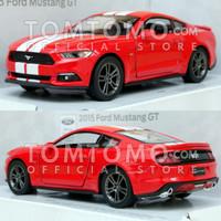 Diecast Ford Mustang GT '15 Stripe Kado Ulang Tahun Mobil Mainan Anak