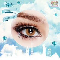 Softlens Solotica Hydrocor by Sweety Plus Lens Brown