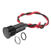 New Brand 12V 16mm Metal LED Dash Panel Warning Pilot Light Indicator