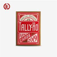 Tally-Ho Playing Card 2019 Circle Back Special Editian Merah Emas