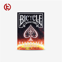 Bicycle Stargazer V2 Brown Fire Playing Card Import America Limited