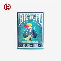 Bicycle Mermaid Putri Duyung Playing Card Import America - Blue