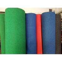 Karpet Alas Lantai Mushola Mesjid Per 1/2 0.5 Meter Merah Hijau Murah